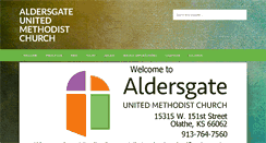 Preview of aldersgateumc-ks.org
