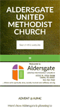 Mobile Preview of aldersgateumc-ks.org